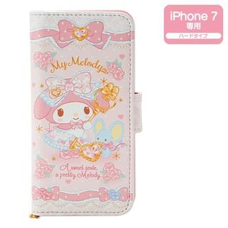 マイメロディ 2つ折りiPhone 7ケース(メルヘン...