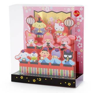 サンリオキャラクターズ ライト&メロディひな祭りカード