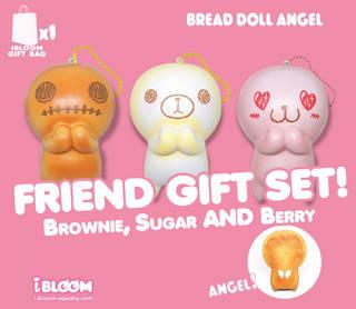 Bread doll set。ブレッドドールセット(3...
