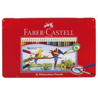 Amazon | ファーバーカステル 水彩色鉛筆 平缶 36色セット TFC-WCP/36C | 色鉛筆 | 文房具・オフィス用品 (17158)