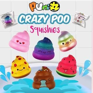 ぷに丸Crazy Poo大きさ約6×5cmそれぞれ香り...