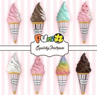 ぷに丸ソフトクリーム スクイーズ各色それぞれの香りがし...