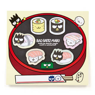 バッドばつ丸 ふせんセット(ばつ丸寿司)