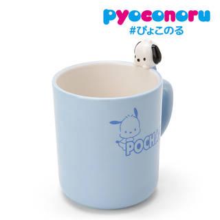 ポチャッコ ぴょこのるマグカップ(Sanrio Cha...