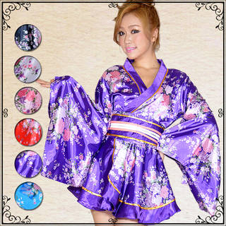 和柄 ドレス (25906)