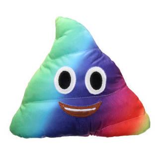 26x26cm Plush Funny Soft Toy カラフル Emoji Emoticon おしゃれな形の枕 Home Office Car Cushion  Banggoodで (27056)