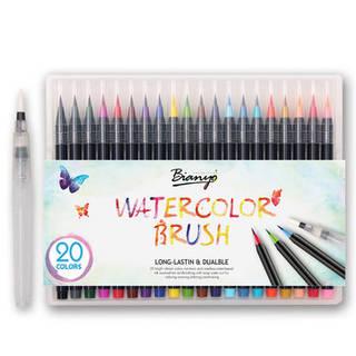 のみ US$18.60、ベストを買う 20色の水彩画の...