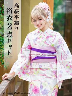 丸菊柄or花毬柄浴衣 (30717)
