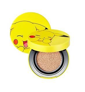 Amazon.co.jp: トニーモリ [TONY MOLY] Pokemon Pikachu Mni Cover Cusion ポケモン_ピカチュウ ミニカバークッション[並行輸入品] (No.1 Skin Beige): ビューティー (33295)