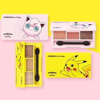 トニーモリ [TONY MOLY] Pokemon Pikachu Eye Palette ポケモン_ピカチュウ アイパレット [並行輸入品]: ビューティー (33320)