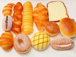 Amazon.co.jp: 食品サンプル パン 12個...