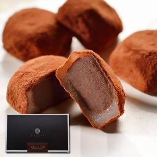 和と洋、奇跡のコラボ!ふわふわお餅に包まれた生チョコレ...