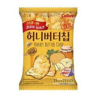 \ザクザクとした食感とハニーバターの味のポテトチップス...