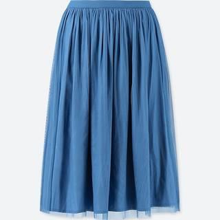 ユニクロ|リバーシブルチュールスカート(丈短め63~65cm)+EC|WOMEN(レディース)|公式オンラインストア(通販サイト) (55876)