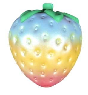ふく福 柔らかい スクイーズ 低反発おもちゃ スクイーズ ストロベリー いちご 果物 食品サンプル ストレス解消おもちゃ 香り付き (56920)