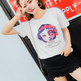 ●6000円以上で送料無料●オルチャン Tシャツ 韓国...