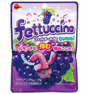 100円フェットチーネグミ イタリアングレープ味10個入り (62598)
