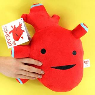 【I Heart Guts】心臓 / 雑貨通販 ヴィレッジヴァンガード公式通販サイト (65388)