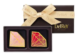 デルレイのチョコレート。ダイヤモンド型が可愛いです💓本...
