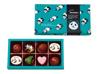 ボンボンショコラ。パンダのパッケージが可愛いです💓...
