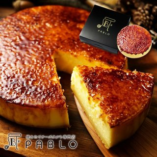 【PABLO】プレミアムチーズタルト 焼きたてチーズタ...