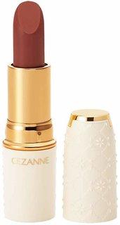 Amazon | セザンヌ ラスティング リップカラーN 105 ブラウン系 4.2g (97901)
