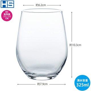 SNSでよく見かける丸みのあるタイプのグラス。タル...