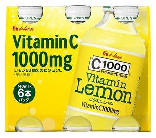 ハウスWF C1000ビタミンレモン 140mlX6 (101969)