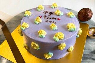 韓国で流行りの〝センイルケーキ〟。センイルとは韓国...