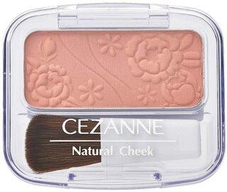 セザンヌのチークは発色がキレイと有名。カラーもいろ...