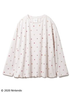 フルーツ柄プルオーバー(カットソー・Tシャツ) (108960)