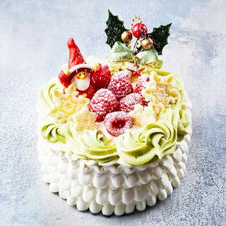 【オンラインショップ限定】リースピスタチオ(クリスマスケーキ) (109839)