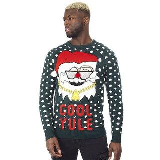 (ブレーブ・ソウル) Brave Soul メンズ Cool Yule サンタ クリスマス セーター ニット (109984)