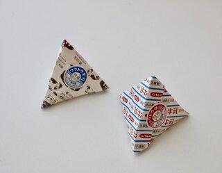 シール付き 三角牛乳封筒 (110017)