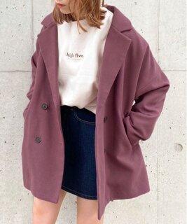 Wゆるジャケットコート【ZOZOTOWN限定アイテム】20AW☆(ダウンジャケット/コート)|apres jour(アプレジュール)のファッション通販 - ZOZOTOWN (110445)