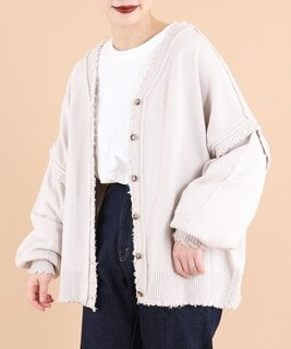 【セール】【2way】ニットカーディガン(カーディガン/ボレロ)|kutir(クティール)のファッション通販 - ZOZOTOWN (110450)