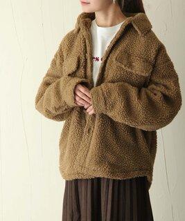 【セール】ボアCPOジャケット【ユニセックス】(ブルゾン)|ZIP FIVE(ジップファイブ)のファッション通販 - ZOZOTOWN (110460)