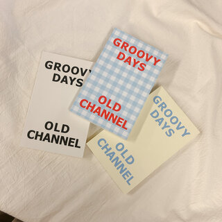新色追加!! [OLD CHANNEL] GROOVY DAYS DIARY (全9色)  (111592)