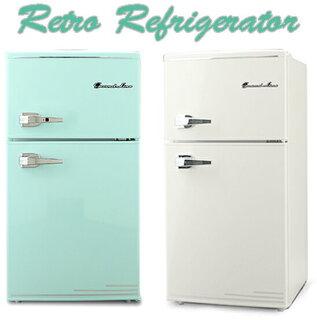 レバーハンドルコンパクト2ドア冷蔵庫 (111864)