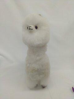 首長の純毛アルパカ人形。顔の表情がとってもかわいです。...