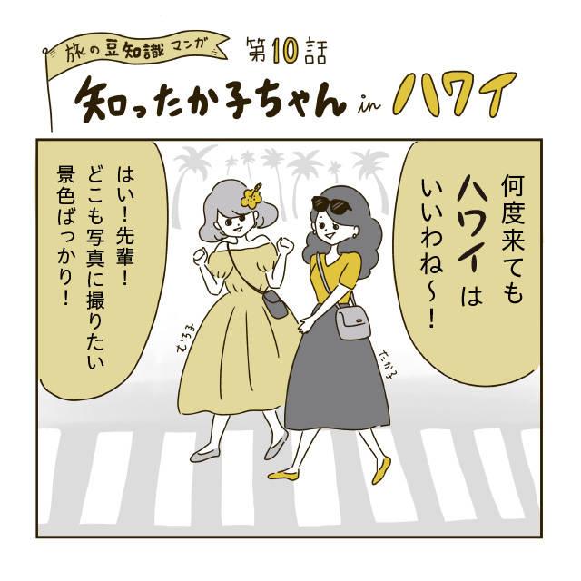 【ホノルル】横断歩道を歩いているときに写真撮影禁止って本当?
