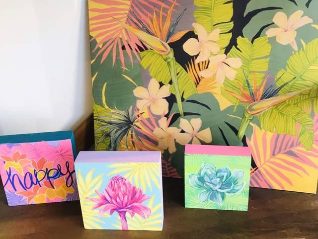 楽園ハワイを描くローレン・ロスが、アートブティックをオープン
