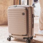 荷物の出し入れをスマートに!フロントオープン式のスーツケース3選