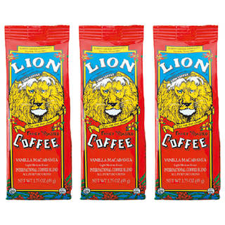 ライオン バニラマカデミアコーヒー 3袋セット (5229)