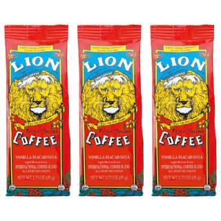 ライオン バニラマカデミアコーヒー 3袋セット (5513)