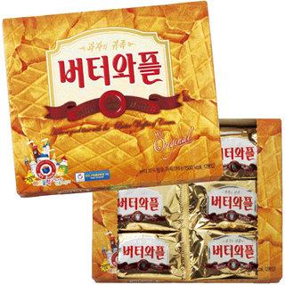韓国の大人気お菓子、バターワッフルは芳醇なバターの香ば...