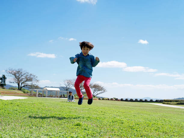 Child playing outdoor
