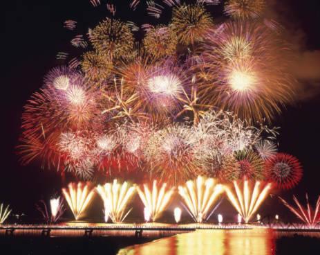 日本三大花火大会の長岡の花火はここがスゴイ!Fireworks