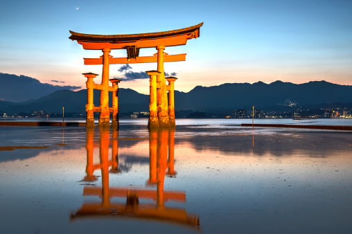 厳島神社- Itsukushima Shrine. M...