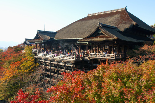 京都 清水寺  -  Autumn colour at...